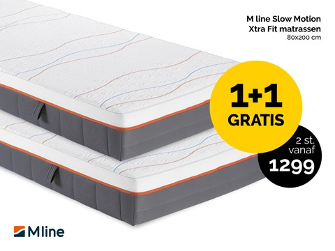 Mline slowmotion xtra fit matras