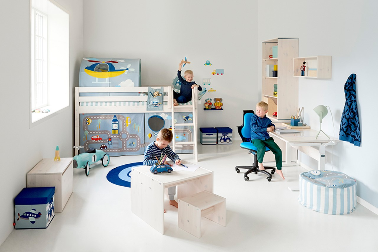 Flexa kinderkamer Beter Bed