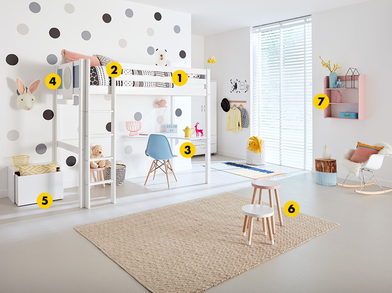 Shop the look: maak je kinderkamer compleet