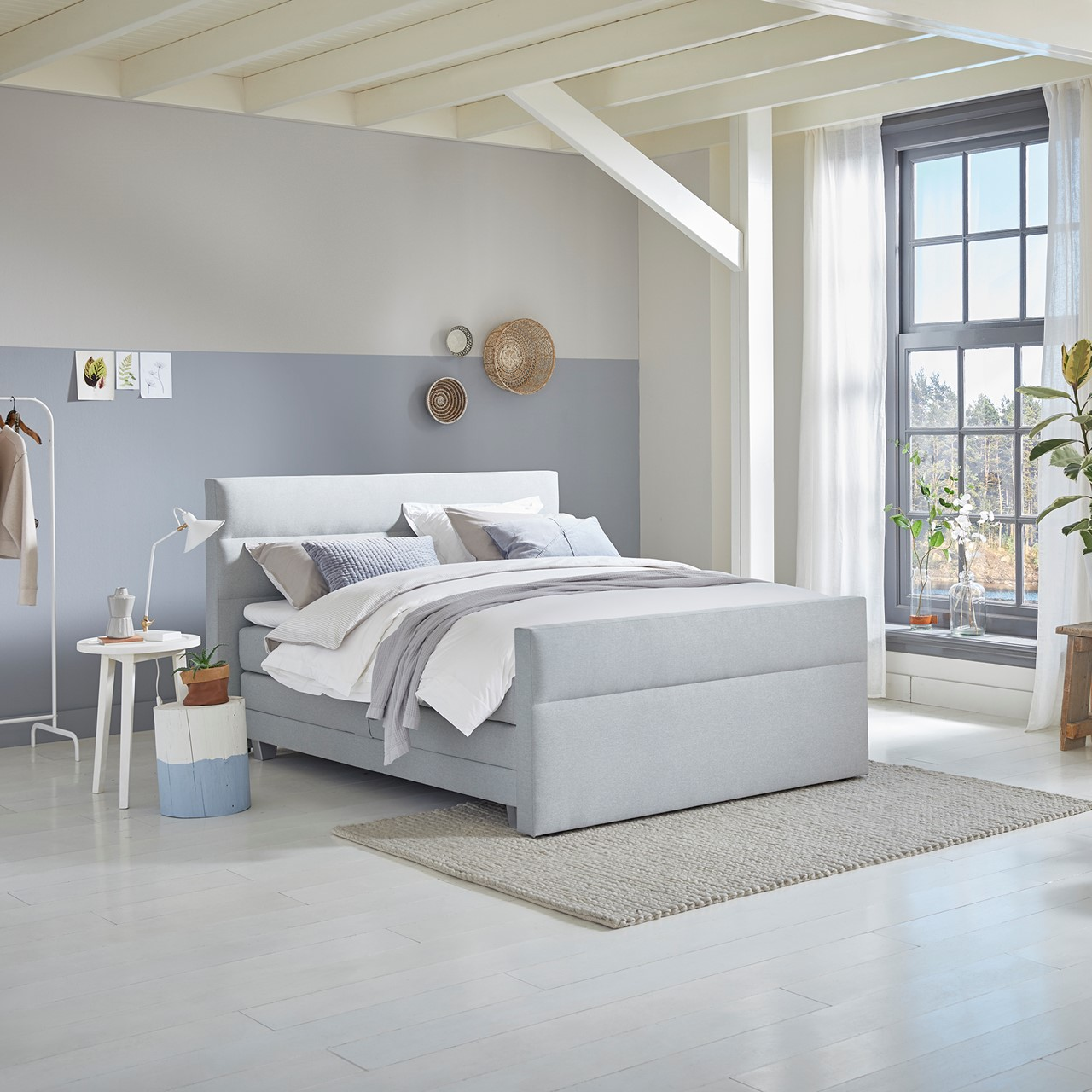 Boxspring Solid